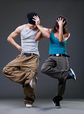 danse contemporaine: Danse en couple Passion Banque d'images
