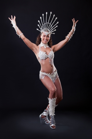 Samba Dancer in studio photo