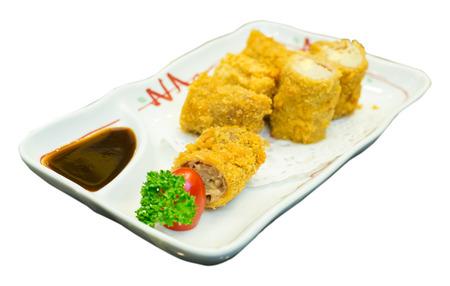 tekka: Pork and Golden Needle Mushroom butter fry Food