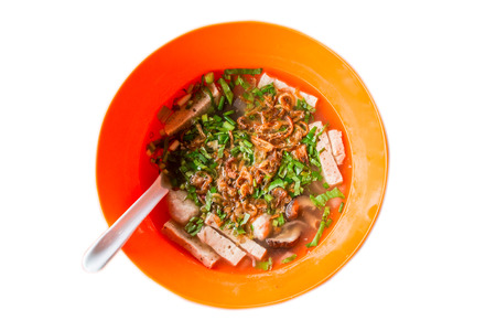 Pork  Noodles Soup from Vietnam photo