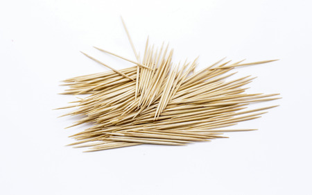 toothpick: Toothpick isolate on white background