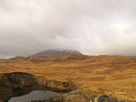 crater highlands: Scottish Highlands