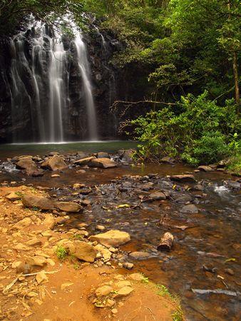 The beautiful Ellinjaa Waterfalls in Queensland, Australia Stock Photo - 3607488