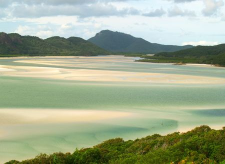 whitehaven: A paradise beach in Australia (Whitehaven beach, Whitsunday Islands)
