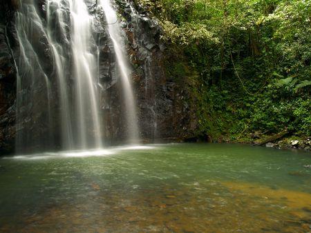 The beautiful Ellinjaa Waterfalls in Queensland