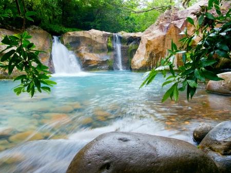 costa: Waterfall at the Rinc�n de la Vieja National Park, Costa Rica