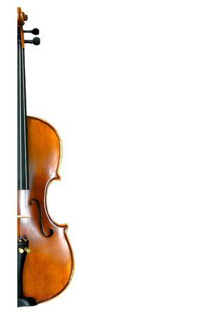 choral: half violin Stock Photo