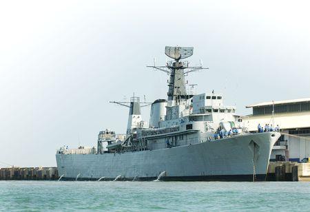 frigate: frigate Stock Photo