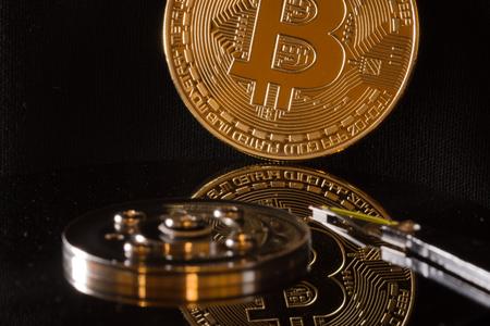bitcoin reflection on hard disk