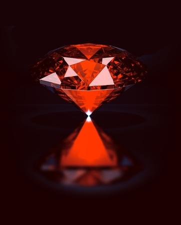 Mystic red ruby