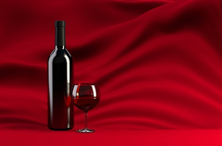 Still life with Red Wine photo