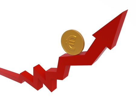 Business Graph   Money Concept II Stock Photo - 13907806