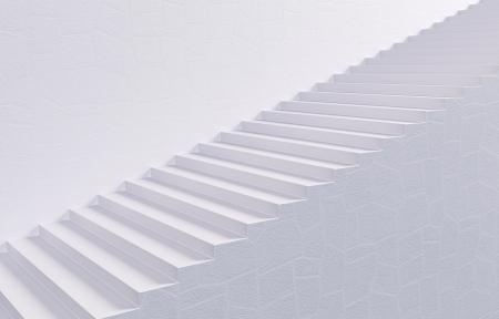 White Stairway photo