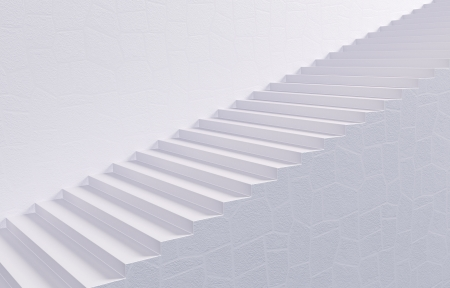 up stair: White Stairway