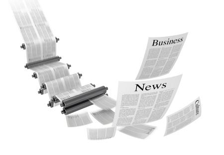 offsetdruck: Druckmaschine Lizenzfreie Bilder