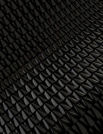 squama: Abstract Black Metallic Background