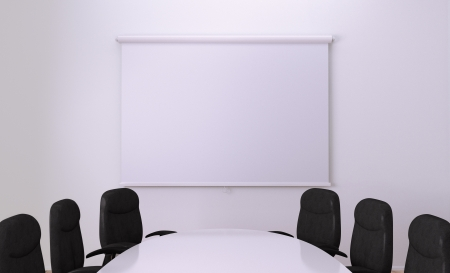 small table: Small Meeting Room  Clipping path around screen