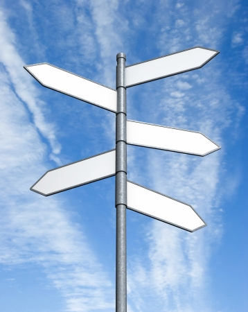 crossroads sign: Crossroads Sign  Stock Photo