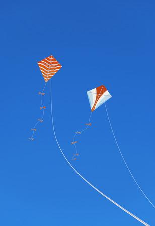 Kites in the Sky Archivio Fotografico
