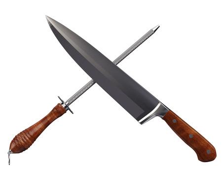 Kitchen Knife   Sharpener  Clipping path