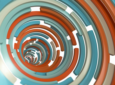Abstract Spiral Background Archivio Fotografico