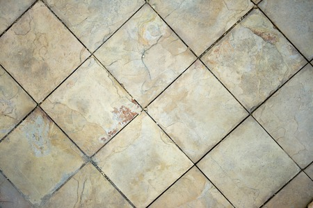 stone floor: The stone floor Stock Photo