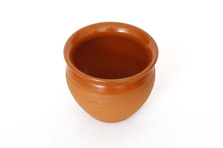 Clay cup for drinking water