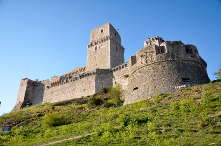 Fortress that dominates the city of Assisi