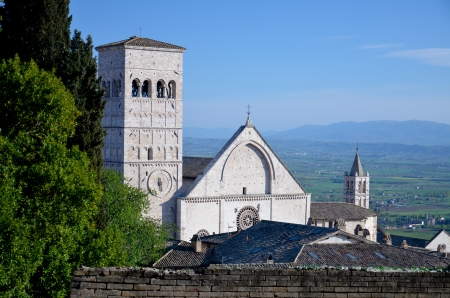 View of the Cathedral of St  Ruffino