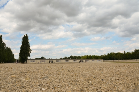 deported: Dachau concentration camp, square of appeals
