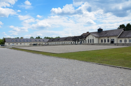 Concentration camp at Dachau, Germany