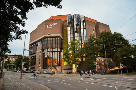 Gasteig Cultural Centre,Munchen of bavaria Editorial