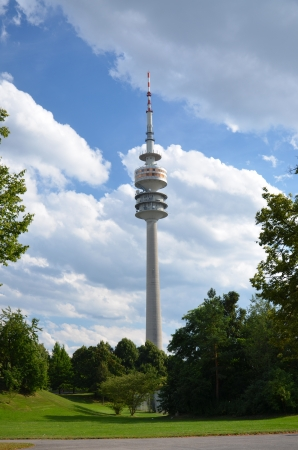 View of the tower communications, Olympiapark
