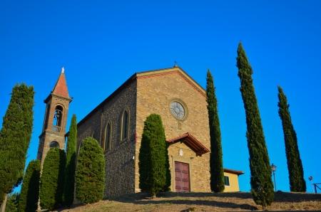 palazzolo: Veduta della chiesa di S. Maria di Loreto Archivio Fotografico