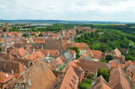 aerial and panoramic view of the city Stock Photo - 16806597