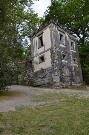 The leaning house, monster park, Lazio