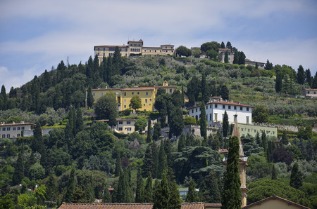 Stunning views over the hills of Fiesole