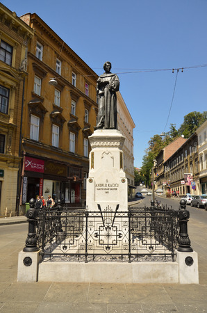 Monument dedicated to Andrew Kacic Miosic, Croatian poet and monk