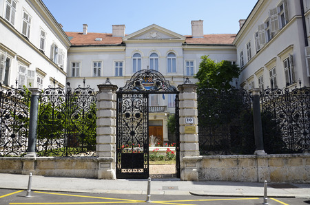 Palace, home of the Institute of History of Croatia Editorial