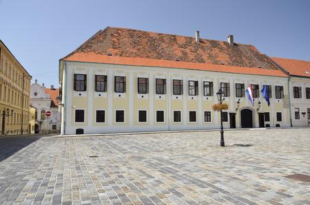 管理建物のクロアチア、ザグレブ