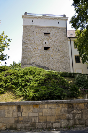 Old medieval tower to defend the city