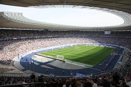 Olympisch Stadion in Berlijn, Duitsland Redactioneel