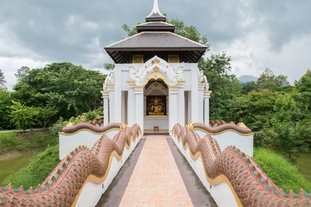 molee: Northern temple Thailand at Buddha  Lanna Chiangmai Province