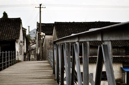 stillness: Bridge Stock Photo
