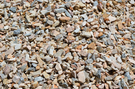 on aggregate: Stone aggregate background texture
