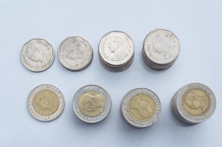 Thai Coins Money Stock Photo
