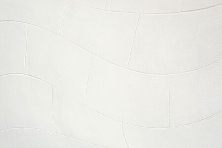 abstract wavy white wall background.