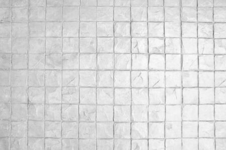 White background of stone pattern surface