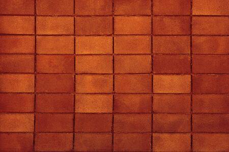 Oragne Cinder block Wall Texture Background