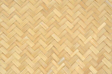 Contexte de la texture de la nature du tissage artisanal traditionnel utilisé pour le matériel de mobilier